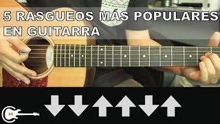 5 Rasgueos Mas Usados En La Música Popular   Tutorial Guitarra (HD)