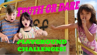 TRUTH OR DARE PLAYGROUND reaction video!