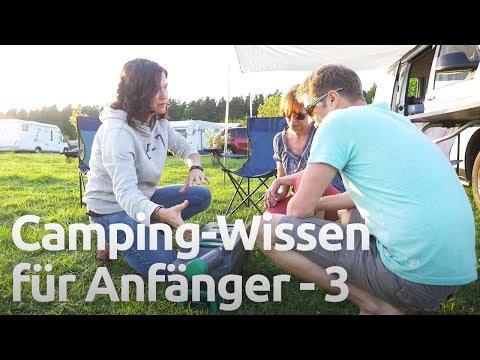 Strom unterwegs, Gas & Gasflaschen, Wasserversorgung und Toilette - Camping Anfänger Workshop Teil 3