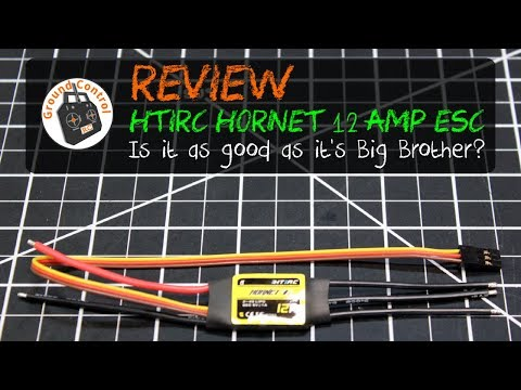 Review - HTIRC ESC 12A w/5V1A BEC 2S-4S from Banggood