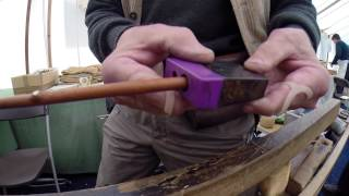 preview picture of video 'how to make a twig (willow) pencil - Hatfield House'