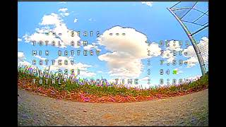 Beginner Drone Footage FPV analog video