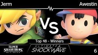 USW 6 - Jerm (Toon Link) vs TLOC | Awestin (Ness) Top 48 - Winners - SSBU