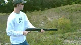 Mossberg 500 Pistol grip 12 gauge shotgun