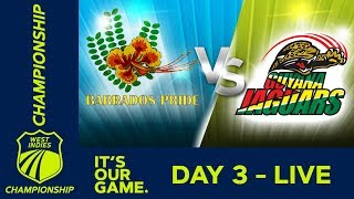 Guyana vs Barbados - Day 3   West Indies Championship 2018/19