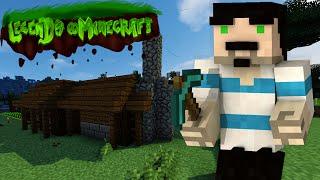 kolay çiftlik evi yapimi   legends in minecraft  bölüm 5