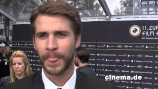 The Dressmaker // Liam Hemsworth // Interview // CINEMA-Redaktion