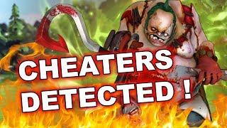 Dota 2 Cheaters: Pudge sees