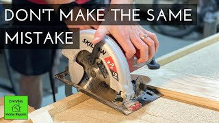 How To Cut a Laminate Countertop | Including Lessons Learned