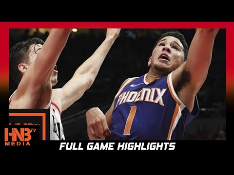 Phoenix Suns vs Portland Trail Blazers Full Game Highlights / Week 2 / 2017 NBA Season