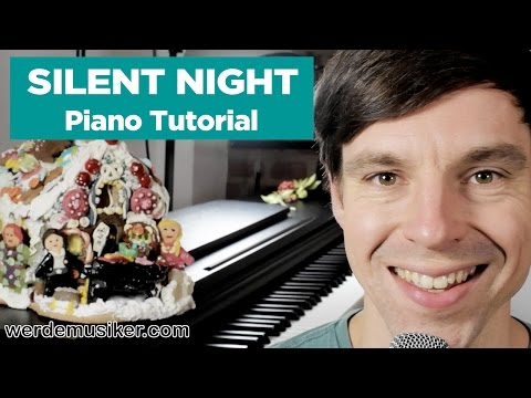 Silent Night – Piano Tutorial – very easy