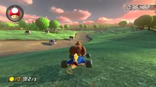 Wii Moo Moo Meadows - 1:21.175 - HD SuperFX (Mario Kart 8 World Record)