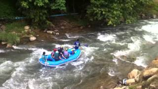 preview picture of video 'Phuket: Rafting in Phang-Nga'