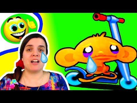 Веселье от БолтушкИ! Как РАЗВЕСЕЛИТЬ Печальную ОБЕЗЬЯНКУ! #7 Игра для Детей - Счастливая Обезьянка 4