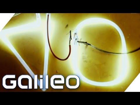 Neonreklame - Wie funktioniert's? | Galileo Lunch Break