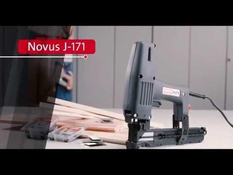 Novus Elektrotacker J-171 | Produktfilm
