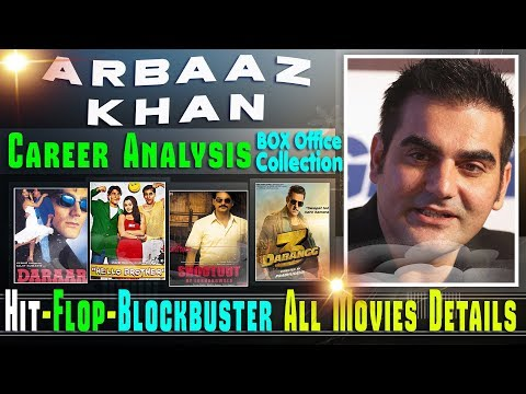 Arbaaz Khan Box Office Collection Analysis Hit and Flop Blockbuster All Movies List.