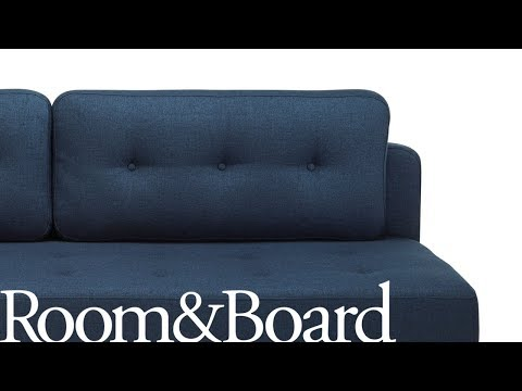 Opening the Deco Convertible Sleeper Sofa