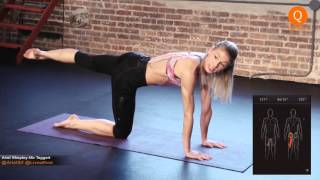 Ariel's Barre Workout With Athos: 20 Minutes