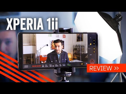 External Review Video sV7f2-KO7F4 for Sony Xperia 1 II 5G Smartphone w/ Alpha