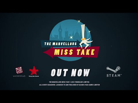 The Marvellous Miss Take Launch Trailer thumbnail
