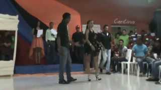 preview picture of video 'Yeli Yesenia Espinal 1er escrutinio patronales Jima Abajo 2014'