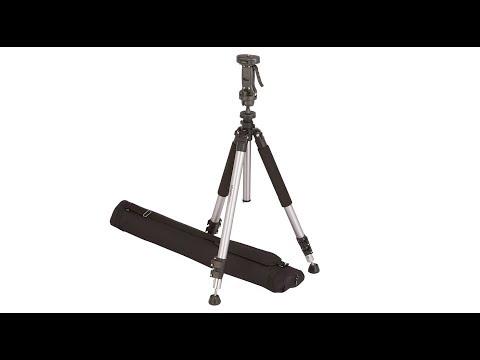 AmazonBasics - Treppiedi con testa con impugnatura a pistola, con borsa, 177 cm