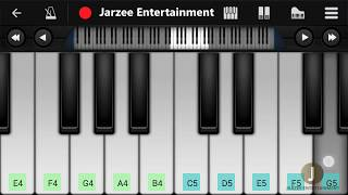 Tera Zikr - Darshan Raval   Mobile Perfect Piano Tutorial with Notes and Midi File