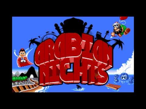 arabian nights amiga cd32