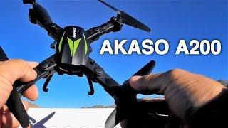 Foldable  Great Distance Wifi FPV Drone AKASO A200