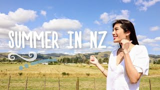 Spending Summer in New Zealand