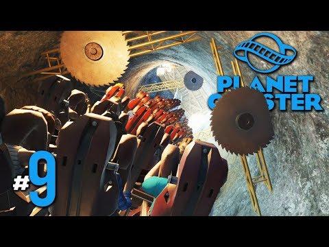 รถไฟเหาะลี้ลับ สับแหลก แหกกระจาย - Planet Coaster #9(มีต่อๆๆๆๆ)