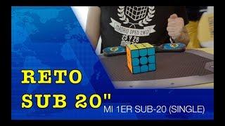 "RETO sub20"" | Mi PRIMER sub20 OFICIAL | #2"