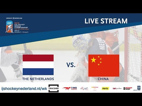 Live Stream WC Ice Hockey Division II Group A: The Netherlands vs. China  April 23rd 2018
