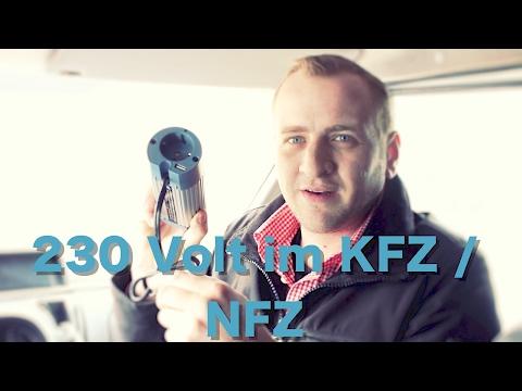 🔴Spannungswandler  12V - 24V auf 230 /220 Volt SteckDose im Auto