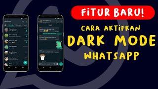 Dark Mode atau Mode Gelap WhatsApp Akhirnya Tersedia di Indonesia, Berikut Video Tutorialnya