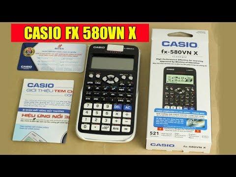 Máy tính Casio fx 580vn x - Phiên bản mới nhất 2018