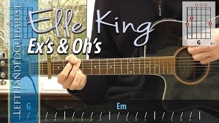 Elle King - Ex's & Oh's guitar lesson