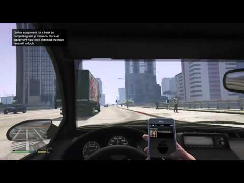 GTA V's Reminder To Not Use Your Phone While Driving