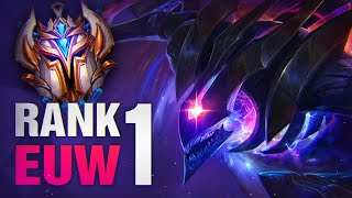 Why the Rank 1 EUW is PROOF that One-Tricks/Main Champs work even in Challenger