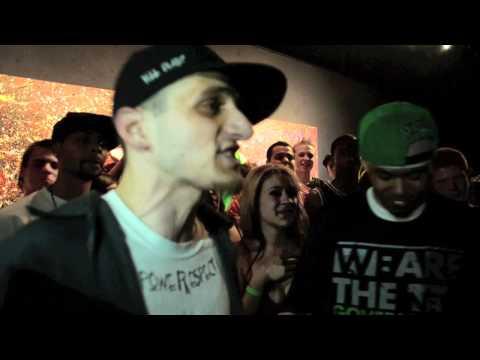 AHAT - Rap Battle - Pop Culture vs White Cheddar | Las Vegas vs Connecticut