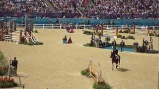 Nick Skelton & Big Star - First round - London horse jumping Individual final - YouTube