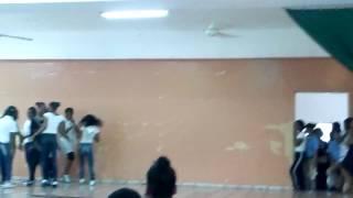 Dia de la raza en la escuela cardenal sancha