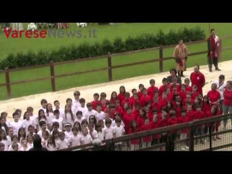 Un coro tricolore al Palio di Legnano