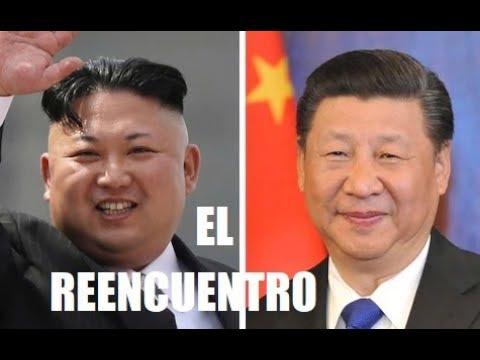 El Reencuentro: Xi Jing Ping y Kim Jong Un Vuelven a ser Amigos.
