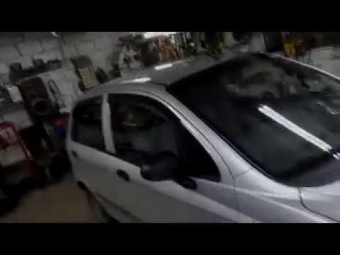 замена резинок передней подвески деу матиз, Chevrolet Spark