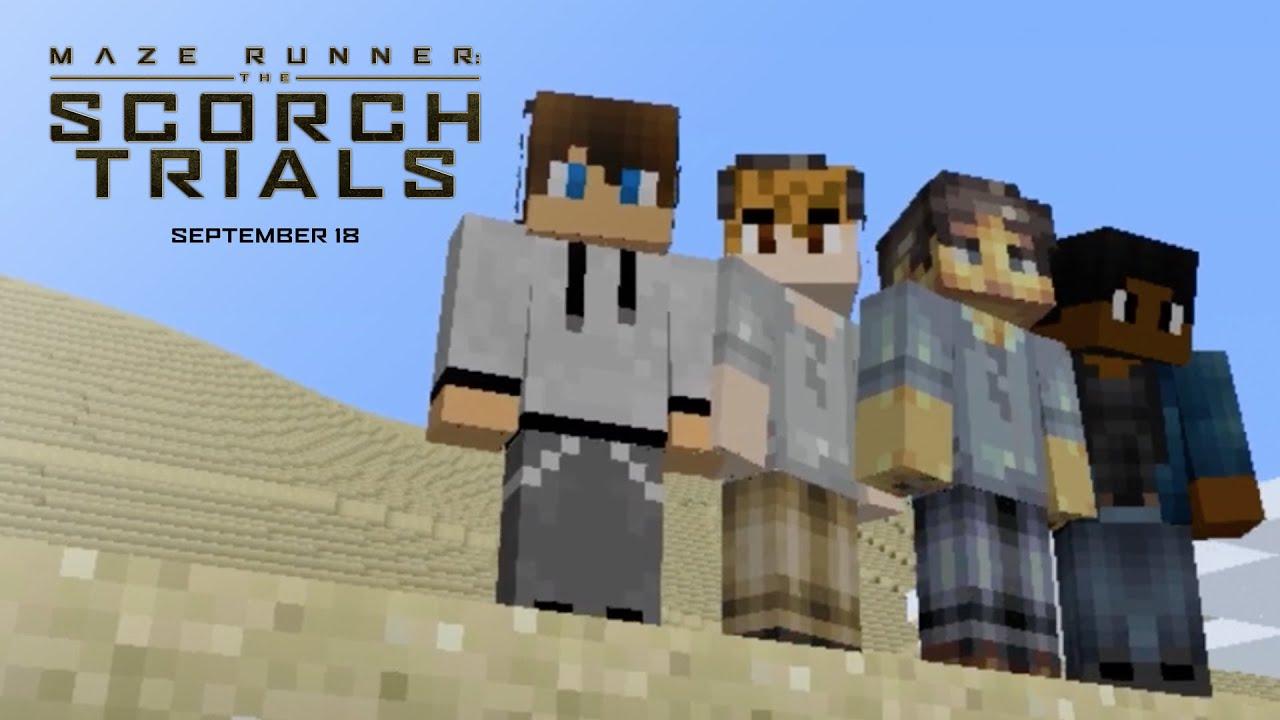 Maze Runner: The Scorch Trials - Minecraft Trailer