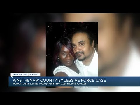 Woman arrested in excessive force incident to be released