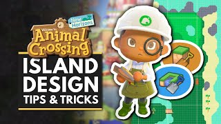 Animal Crossing New Horizons | Island Designing Tips & Tricks - Terraforming, Custom Designs & More!