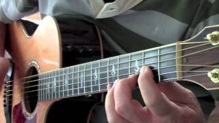 Water of Love by Dire Straits (solo acoustic guitar)